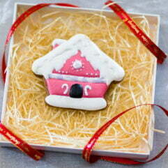 Pierniczki - różowy domek